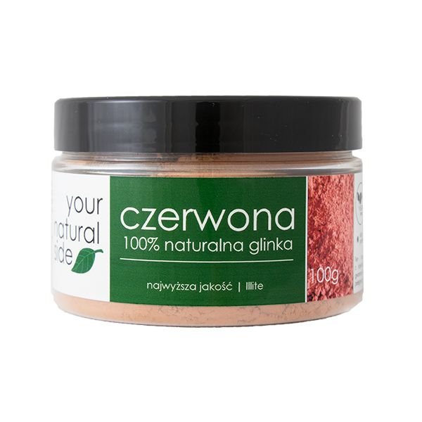 Your Natural Side - Red Clay - 100g