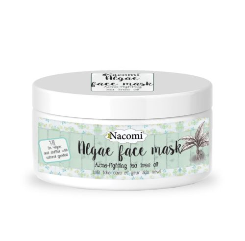 Nacomi - Algae Face Mask - Acne Fighting Tea Trea Oil - Vegan - 42g