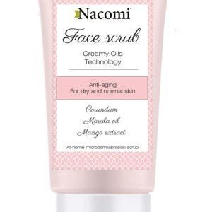 Nacomi - Face Scrub - Anti-Ageing - Marula oil, mango extract - 75ml