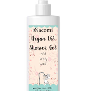 Nacomi - Shower Gel - Argan Oil - Vegan - 250ml