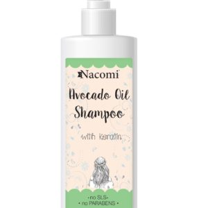 Nacomi - Shampoo - Keratin and Avocado Oil - 250ml