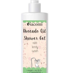 Nacomi - Shower Gel - Avocado Oil - Vegan - 250ml