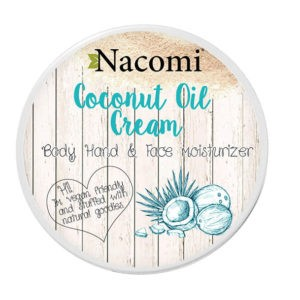 Nacomi - Coconut Oil Cream - Body, Hand & Face Moisturizer - Vegan - 100ml