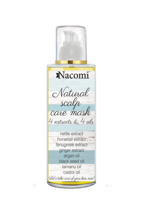 Nacomi - Natural Scalp Care Mask - 4 Extracts, 4 Oils - Vegan - 50ml