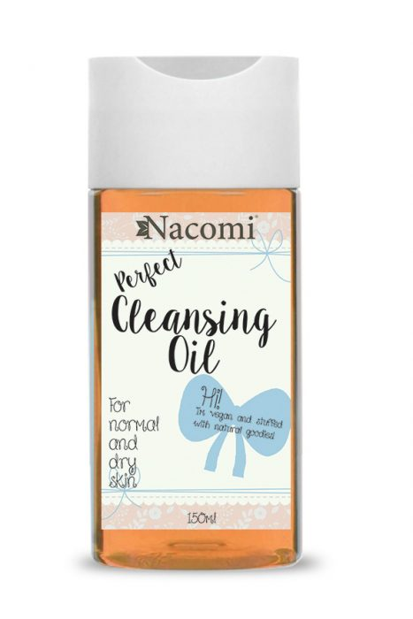 Nacomi - Makeup Remover Oil - Dry, Normal Skin - Vegan -150ml