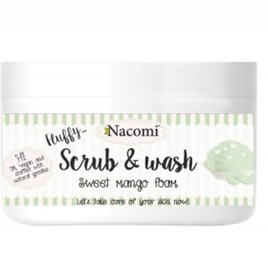 Nacomi - Fluffy Scrub&Wash - Sweet Mango Foam - Vegan - 180ml