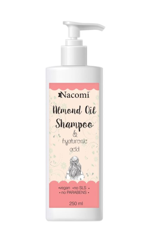 Nacomi - Shampoo - Sweet Almond Oil - Vegan - 250ml