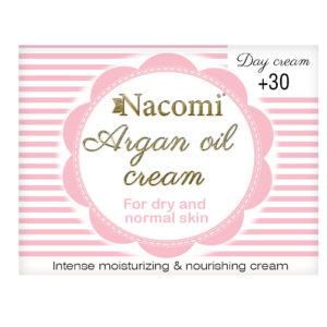Nacomi - Face Cream - Argan Oil Cream - Dry, normal skin - 30+ - Day - 50ml
