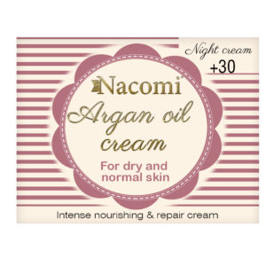 Nacomi - Argan Oil Cream - Dry and normal skin - 30+ - Night