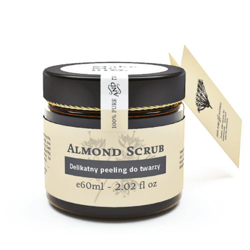 Make Me Bio - Face Scrub - Almond Scrub - Dry and sensitive skin - 60ml