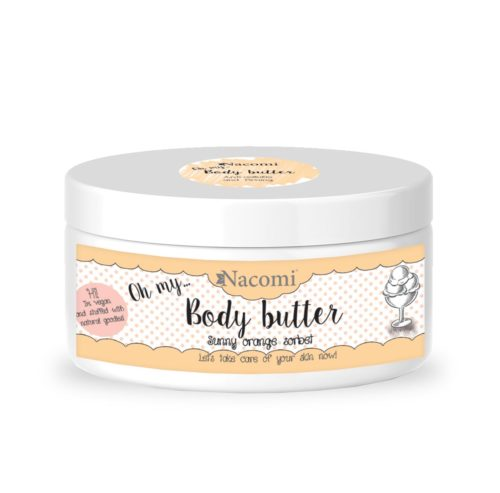 Nacomi - Body Butter - Sunny Orange Sorbet - Firming, Anti-cellulite - 100ml