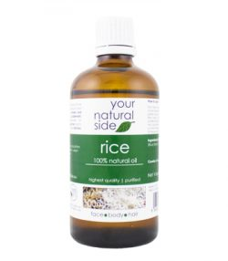 Your Natural Side - Rice Oil - Refined - Vegan - 100ml
