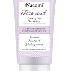 Nacomi - Face Scrub - Smoothing and brightening - Normal and dry skin - 75ml