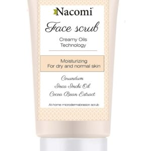 Nacomi - Face Scrub - Moisturizing - Dry and normal skin - 75ml