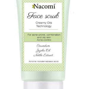 Nacomi - Face Scrub - Jojoba oil and nettle extract - Anti-Acne - 75ml