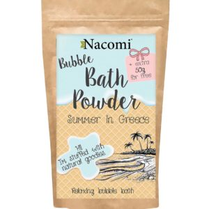Nacomi - Bubble Bath Powder - Summer in Greece - 150g