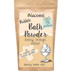 Nacomi - Bubble Bath Powder - Sunny Orange Sorbet - 150g