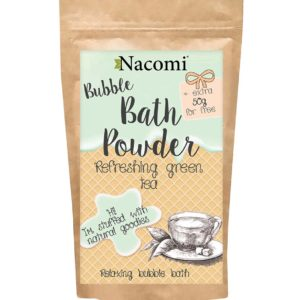 Nacomi - Bubble Bath Powder - Refreshing Green Tea - 150g
