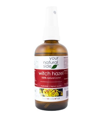 Your Natural Side - Witch Hazel Flower Water - Organic - Vegan - 100ml