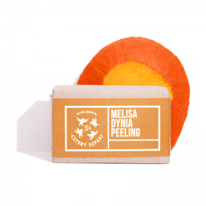Cztery Spaki - Mellisa and Pumpkin Soap - Peeling